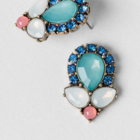 Keats Jeweled Studs