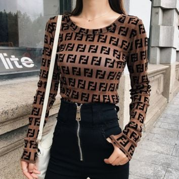 Stylish FENDI Top