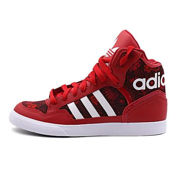 Originals Adidas EXTABALL Women's Hard-Wearing Skateboarding Shoes Sports Sneakers Classique