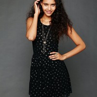 Free People Reversible Dot Dress