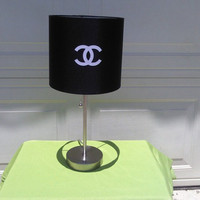 Chanel Inspired Lamp