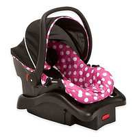 Disney Light N Comfy Minnie Mouse Polka Dot Luxe Car Seat in Pink