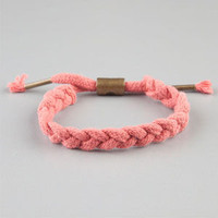 Rastaclat Braided Hemp Bracelet Ruby One Size For Men 23149031001