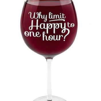 Happy Hour Gigantic Wine Glass