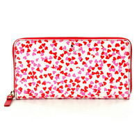 kate spade new york Secret Admirer Lacey Confetti Heart Continental Wallet | Dillards