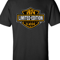 40th Birthday Shirt 1974, Limited Edition Classic B-day T Shirt Cool hipster swag mens womens ladies TShirt T-Shirt T Shirt Tee  - DT-606