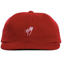 OK Corduroy Polo Hat Red