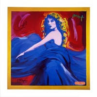 Speak Now Peter Max Poster Art - Signed by Taylor & Peter Max