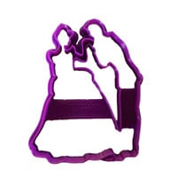 Prince & Princess Dancing cookie cutter