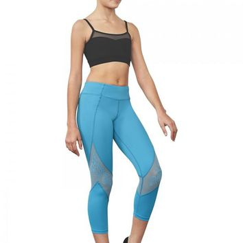 Mesh Panel 7/8 Legging FP5174C by Bloch