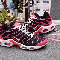 Nike TN Women Black/Pink Sport Sneaker Shoe