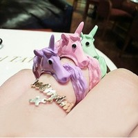Adjustable Unicorn Ring