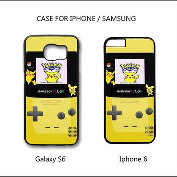Cell phone case cover game boy color pokemon for Iphone 6s,Iphone 6s plus,Iphone 6,Iphone 6 plus,iphone 5 5s,iphone 5c,iphone 4 4s,Samsung Galaxy S3/S4/S5/S6 [8098017223]