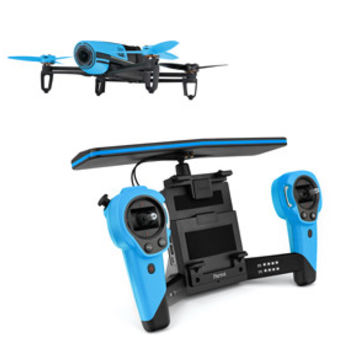 Parrot Bebop & Skycontroller Blue Battery Included
