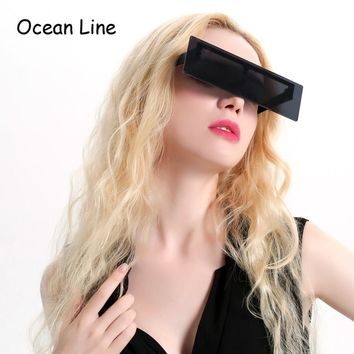 Cool Black Mosaic Costume Glasses Night Party Favors Photo Booth Accessories Halloween Sunglasses Party Supplies Decoration