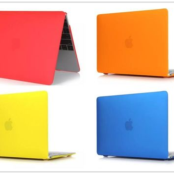 Crystal/matt Clear hard Cover Case For Macbook Air 11 13 Pro 13 15 Retina 12 13 15 inch Laptop bag for Mac Book pro 13 case