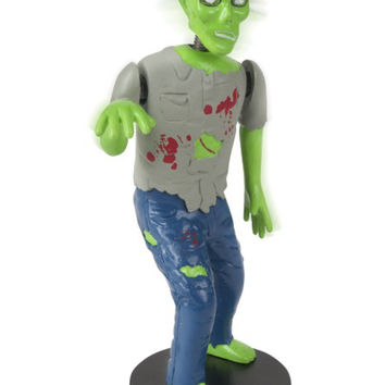 Dashboard Zombie Bobblehead Walking Dead Goth Horror Brain Eating Novelty Gift