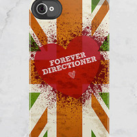 iPhone 4S/4 - Forever Directioner - One Direction - (iPhone Case iPhone 4 Case cover, Hard Fitted Case iPhone 4S, Apple iPhone 4 Case)