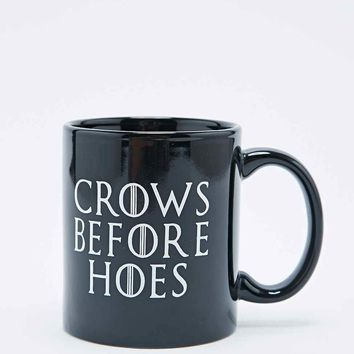 Crows Before Hoes Mug - Urban Outfitters