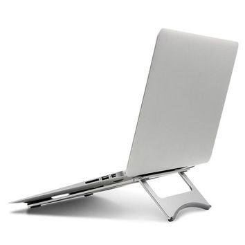 Laptop Stand Aluminum Alloy Notebook Heat Reduction Holder Pad Cooling Cooler Stands