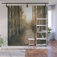 Into The Forest XI Wall Mural by marcogonzalez