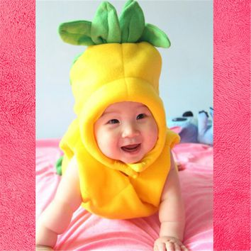 New Novel Studio's Other Photographic Shoot Baby Clothes Pineapple Baby Age 100 Day Dress Photography Free Shipping
