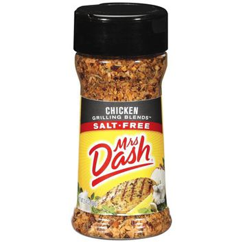 MRS DASH Chicken Salt-Free Grilling Blends 2.4 OZ SHAKER - Walmart.com