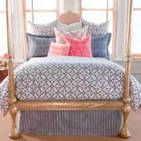 Buy John Robshaw Pipal Indigo Duvet from www.aldeahome.com