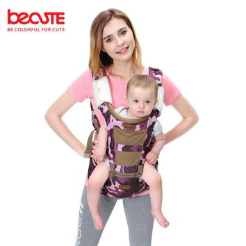 Becute Ergonomic Baby Carrier sling Breathable baby kangaroo newborn hipseat backpacks Multifunction sling carrying for children