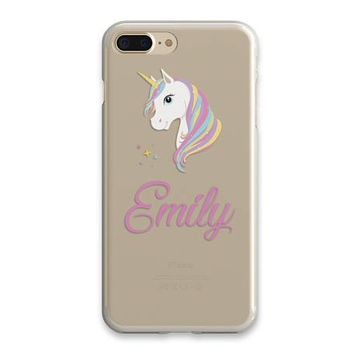 Personalized Gift For Her Custom Name Iphone 7 Case Personalized  iPhone Cover Phone Case iPhone Case Clear iPhone SE Best Friend Gift