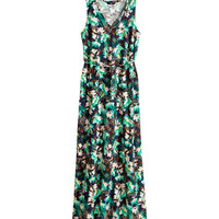 H&M - Patterned Maxi Dress