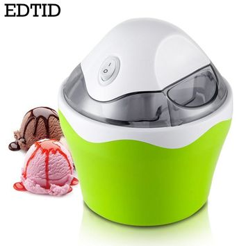 EDTID MINI household ice cream maker automatic machine for DIY Fun,green