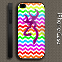 browning deer chevron design iPhone case for iphone 4 case,iphone 4s case, iphone 5 case, iphone 5s case, iphone 5c case