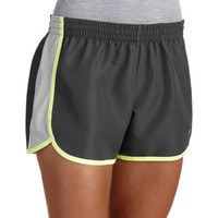 Walmart: Danskin Now Women's Woven Running Shorts With Mesh Panel and Hidden ID Pocket
