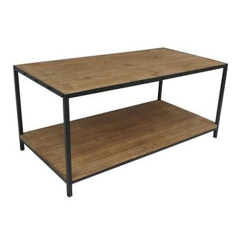 SONOMA life + style Clayton Coffee Table (Brown)