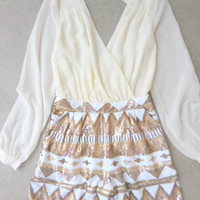 Dream Weaver Party Romper [7104] - $54.00 : Feminine, Bohemian, & Vintage Inspired Clothing at Affordable Prices, deloom