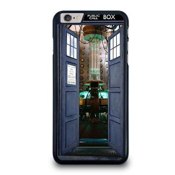 dr who tardis open the door iphone 6 6s plus case cover  number 1