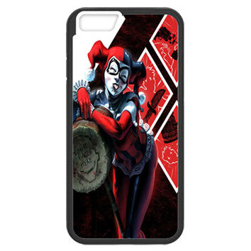 Harley Quinn with Mallet TPU Bumper for Iphone 6/6s