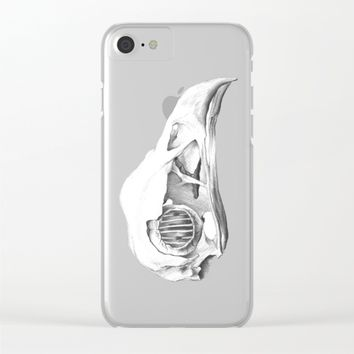 End of everything Clear iPhone Case by eDrawings38