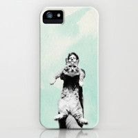 Ed Sheeran and a Cat  iPhone & iPod Case by savingmypromises