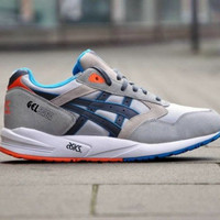 Asics Gel Saga (Grey/Navy/Orange)
