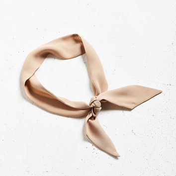 The Style Club Love Club Neck Tie Scarf - Urban Outfitters
