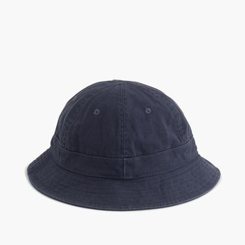 Bucket hat in duck canvas