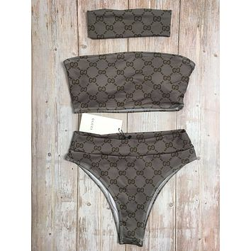GUCCI One Piece Swimwear Bikini Set GUC09