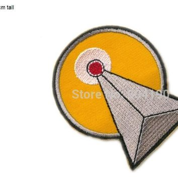 Lot of Ten STAR TREK IDIC Mr. Spock Leonard Nimoy Vulcan IDIC Symbol Fashion Movie TV Iron On Sew On Patch Cosplay Costume