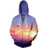 First Light Zip Up Hoodie