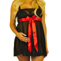 Bow Leave It! Pregnancy Lingerie