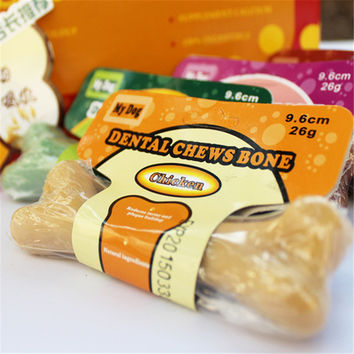Pet Dog Puppy Food Different Taste Molar Bones Tooth Cleaning Treat Pet  Pet Supplies
