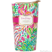 Lilly Pulitzer Travel Mug in Spot Ya