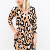 Wild Ways Leopard Dress